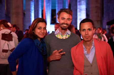 Javeria Rizvi Kabani, Carlos Rojas, paul alarcon